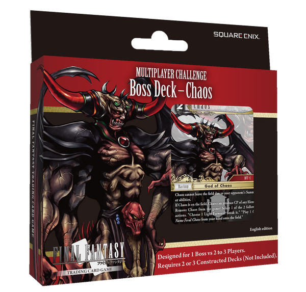Final Fantasy TCG - Boss Deck - Chaos [Releases March 5th]