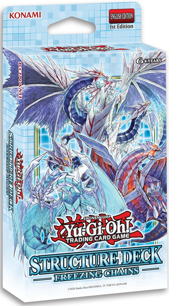Yu-Gi-Oh! - Freezing Chains Structure Deck [Releases February 19th 2021]