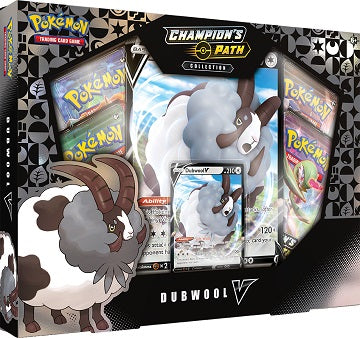 Pokemon - Champion's Path Dubwool V Box