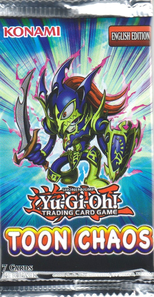 Yu-Gi-Oh! - Toon Chaos Booster Pack - Unlimited Edition