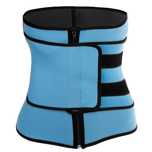 Body Shaper Slimming Wrap Belt Waist Trainer Cincher Corset Fitness Sweat Belt Girdle Shapewear Plus Size Women Mens Fajas Sauna