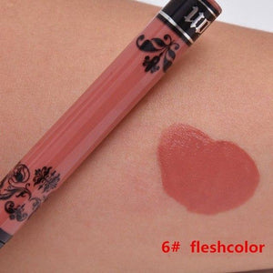 2019 Red Tattoo Waterproof Non-stick Matte Liquid Lipstick