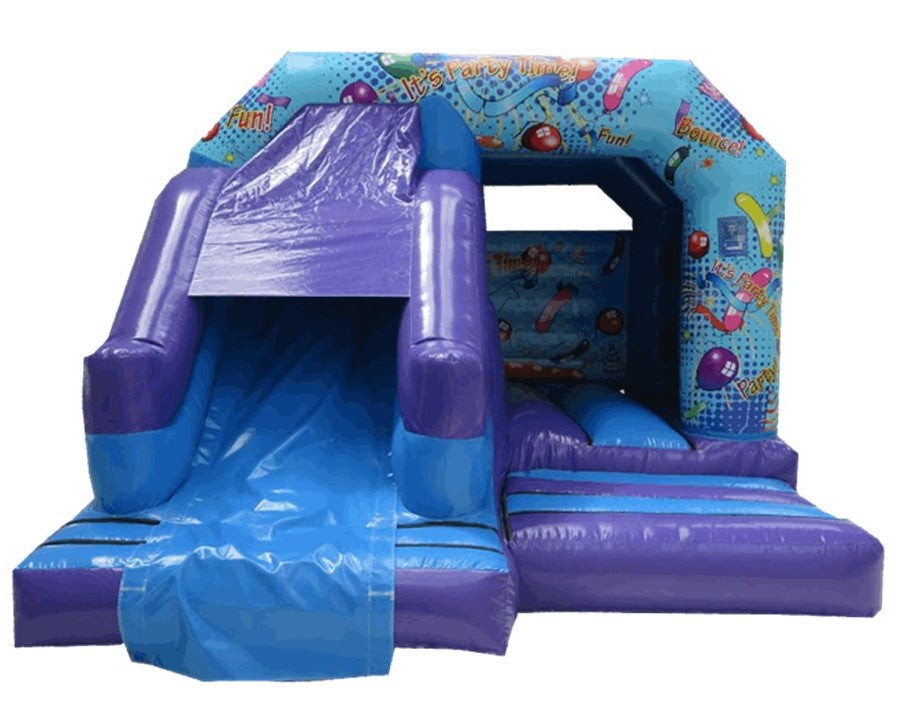 Party Bouncy Castle With Slide 15x12ft