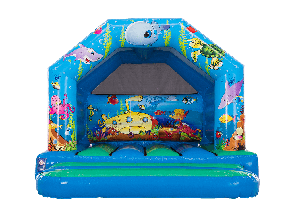 Ocean Life Bouncy Castle 13x12ft