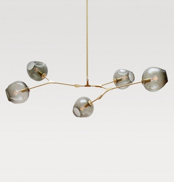 5-Globe Bubble Chandelier-shopsabrinabitton.com