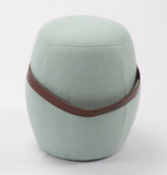 Moteki Kiley Handmade Pouf/Stool - Light Green