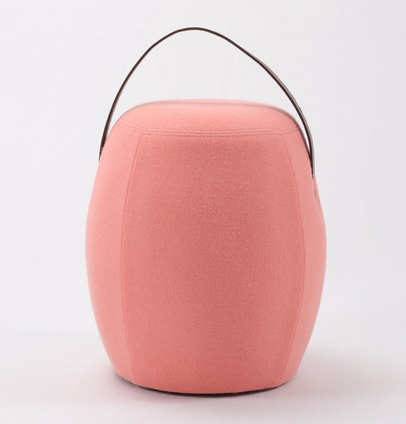 Kiley Handmade Pouf/Stool-shopsabrinabitto.com