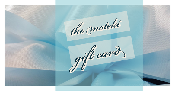 Moteki Gift Card-shopsabrinabitton.com