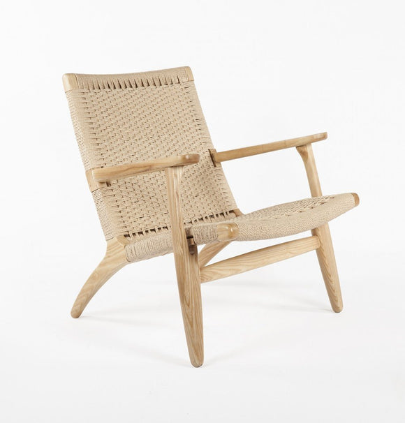 Reproduction of Wegner CH25 Easy Lounge Chair-shopsabrinabitton.com