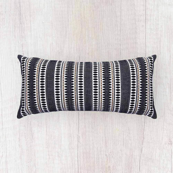Moteki Artisan Cushion rich textured fabric that were woven on handlooms by artisans. Available in several colors, and with a hidden zip closure, they will help you create your perfect living space.-shopsabrinabitton.com