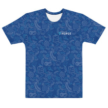 Load image into Gallery viewer, Verge Wallet all over T-shirt (Blue)