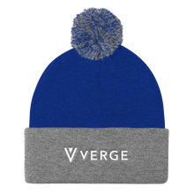Load image into Gallery viewer, Verge Pom Pom Knit Cap vergecurrency.myshopify.com