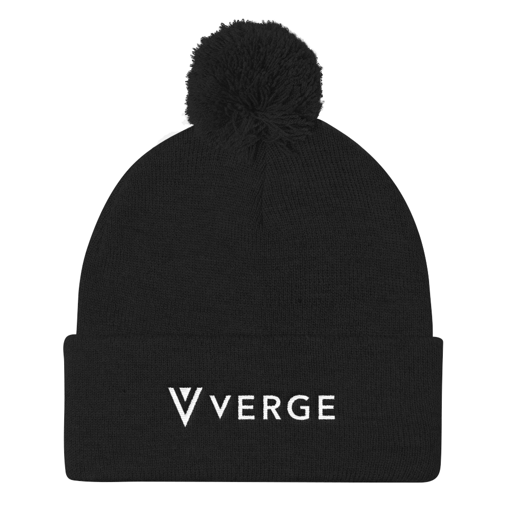 Verge Pom Pom Knit Cap vergecurrency.myshopify.com