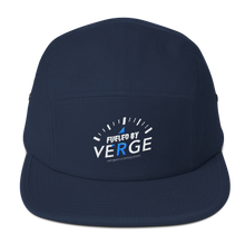 Load image into Gallery viewer, Fueled by Verge 5 Panel Hat vergecurrency.myshopify.com