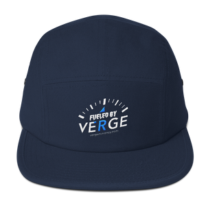 Fueled by Verge 5 Panel Hat vergecurrency.myshopify.com