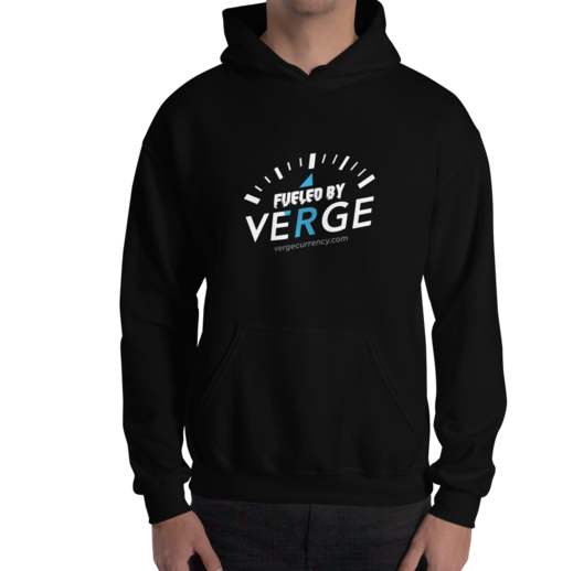 Fueled by Verge Hoodie vergecurrency.myshopify.com