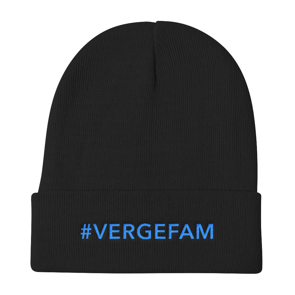 Verge Knit Beanie vergecurrency.myshopify.com
