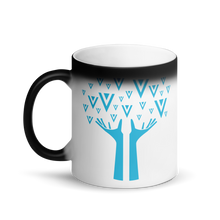 Load image into Gallery viewer, Verge Family Tree Magic Mug vergecurrency.myshopify.com