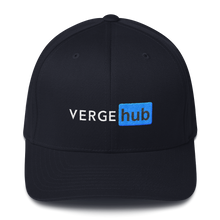 Load image into Gallery viewer, VergeHub Flexfit Hat vergecurrency.myshopify.com