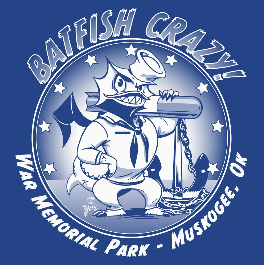 PRE-ORDER BATFISH CRAZY T-SHIRT FLOOD RELIEF!