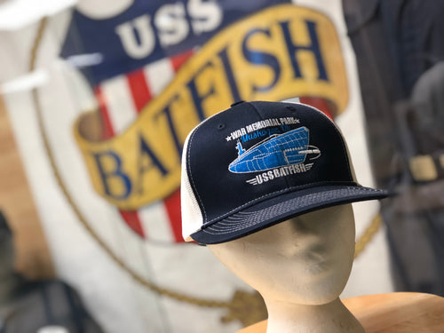 Summer Hat! USS Batfish/Muskogee War Memorial Park Mesh Hat