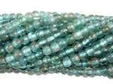 Apatite Beads, 4.5mm Round Beads-BeadBeyond