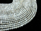 Light Gray Moonstone, 5mm Round Beads-BeadBeyond