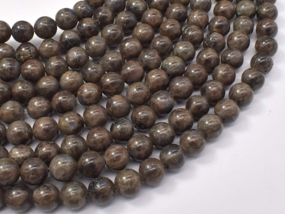 Chocolate Labradorite Beads, 8mm (8.4mm)