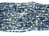 Matte Sodalite Beads, 4mm (4.5mm) Round Beads-BeadBeyond