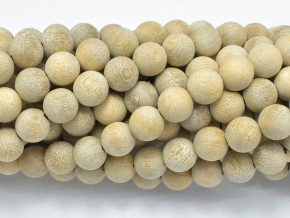 Matte Silkwood Beads, 8mm Round Beads-BeadBeyond