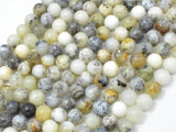 Dendritic Opal Beads, Moss Opal, 6mm (6.3mm) Round