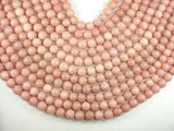 Pink Opal, 10mm Round Beads-BeadBeyond