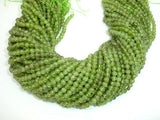 Peridot Beads, 3.8mm Round Beads-BeadBeyond