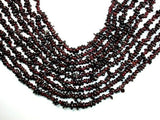 Red Garnet, 4mm - 8mm Pebble Chips Beads-BeadBeyond