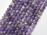 Amethyst Beads, Dog Tooth Amethyst, 6mm(6.5mm)