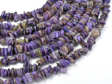 Charoite, 5mm-10mm Chips Beads, 15.5 Inch-BeadBeyond