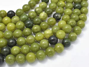 Canadian Jade Beads, 10mm Round Beads-BeadBeyond
