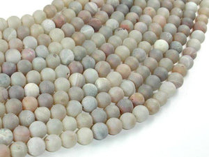 Druzy Agate Beads, Geode Beads, 6mm(6.5mm) Round Beads-BeadBeyond