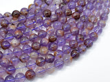 Super Seven Beads, Cacoxenite Amethyst, 8mm Round-BeadBeyond