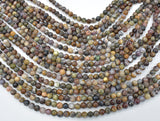 Pietersite Beads, 6mm (5.8mm) Round Beads-BeadBeyond