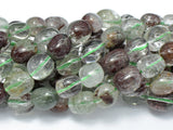 Phantom Quartz, Lodolite Quatz, Approx 9x11mm Nugget Beads-BeadBeyond