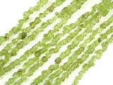 Peridot, Approx 3-4 mm Chips Beads