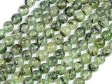 Prehnite Beads, 8mm Round Beads-BeadBeyond