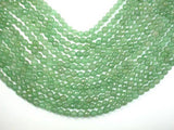 Green Aventurine, 6mm Faceted Round Beads