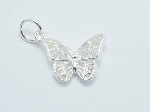 1pc 925 Sterling Silver Charms, Butterfly Charm