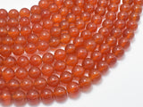 Carnelian Beads, Round, 8mm-BeadBeyond