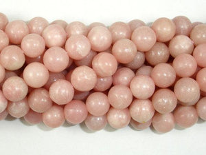 Pink Opal, 8mm Round Beads-BeadBeyond