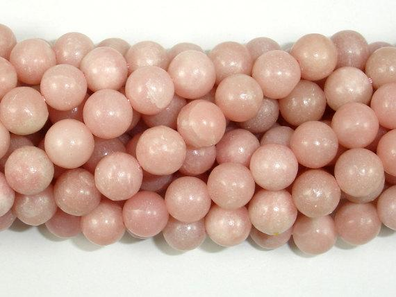 Pink Opal, 8mm Round Beads