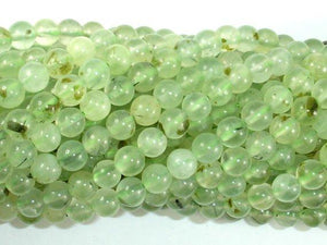 Prehnite Beads, 6mm(6.2mm) Round Beads-BeadBeyond