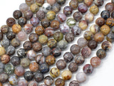Pietersite Beads, 8mm Round Beads-BeadBeyond